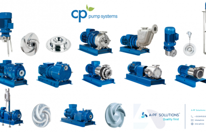 NEW PARTNER – CP PUMPEN – MAGNETIC DRIVE PUMPS WITH INNOVATIVE CONCEPT