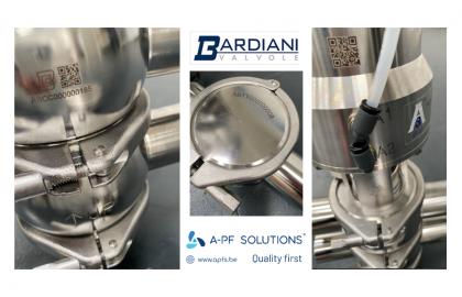 PHARMA NEWS: Traceability of BARDIANI valves